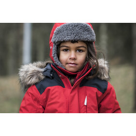 DIDRIKSONS Björnen Coverall Barn Chili Red